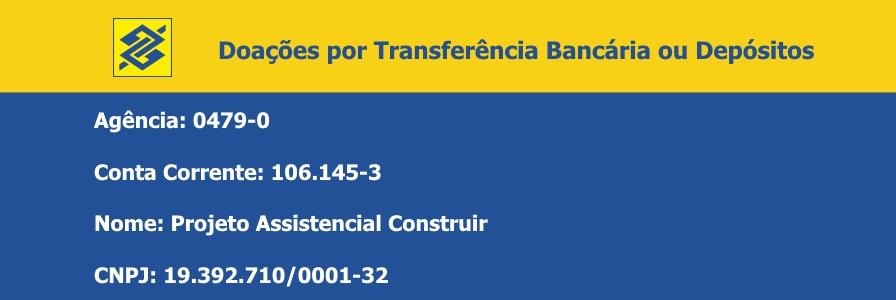 Doaçoes Projeto Construir - Banco do Brasil