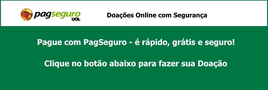 Doaçoes Projeto Construir - PagSeguro